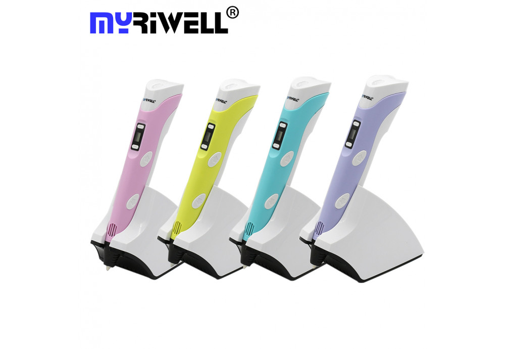 Обзор 3D ручка Myriwell Stereo Drawing (RP-200B)