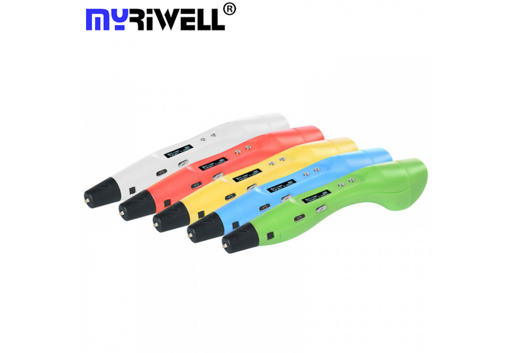Обзор 3D ручка MyRiwell 6 Stereo OLED