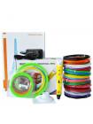 3D Ручка MyRiwell USA Vip + Набора ABS пластика 16 цветов (240 метров) + набор цветных трафаретов для рисования + подставка для ручки + сверло для чистки сопла!