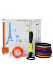 3D РУЧКА AIR PEN POLAROID PLAY PRO + Набора ABS пластика 16 цветов (80 метров) + подставка для ручки + сверло для чистки сопла + набор цветных трафаретов для рисования!