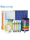 3D Ручка Dewang USA X2 Maximum + Набора ABS пластика 16 цветов (320 метров) + набор трафаретов для рисования + подставка для ручки + светящийся PLA пластик 10 метров + коврик для 3D ручки!