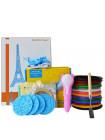 3D Ручка Dewang D8 Bear VIP + Набора PCL пластика 12 цветов (120 метров) + набор цветных трафаретов для рисования + сверло для чистки сопла + 4 шаблона пластиковых + наклейки + лопатка для снятия рисунков!