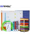 3D Ручка MyRiwell RP-100C Portable MAXIMUM + Набора ABS пластика 16 цветов (160 метров) + набор трафаретов для рисования + подставка для ручки + светящийся PLA пластик 10 метров + лопатка для снятия рисунков + коврик А4!