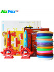 3D Ручка Air Pen Super Wings PRO + Набора PCL пластика 12 цветов (60 метров) + набор трафаретов для рисования + сверло для чистки сопла + подставка для 3D ручки + сопло (0,6 мм) + 3D трафареты!