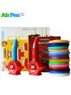 3D Ручка Air Pen Super Wings VIP + Набора PCL пластика 12 цветов (160 метров) + набор трафаретов для рисования + сверло для чистки сопла + подставка для 3D ручки + сопло (0,6 мм) + 3D трафареты!
