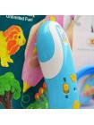 3D Ручка Air Pen Mini Painting Pen PRO + Набора PCL пластика 6 цветов (30 метров) + набор трафаретов для рисования + сверло для чистки сопла + набор 3D трафаретов!