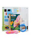 3D Ручка Air Pen Mini Painting Pen + Сверло для чистки сопла + Набор цветных трафаретов для рисования!