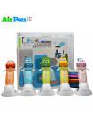 3D Ручка Air Pen Сarboom PRO + Набор PCL пластика 6 цветов (30 метров) + Сверло для чистки сопла + набор трафаретов для рисования + набор 3D трафаретов!