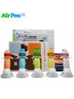 3D Ручка Air Pen Сarboom VIP + Набор PCL пластика 12 цветов (60 метров) + Сверло для чистки сопла + набор цветных трафаретов для рисования!