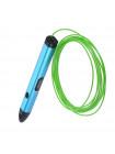 3D Ручка Dewang X4 Premium + + Набора ABS пластика 16 цветов (240 метров) + набор трафаретов для рисования + подставка для ручки + лопатка для снятия рисунков + светящийся PLA пластик 20 метров + коврик для 3D ручки + Power Bank!
