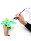 3D Ручка Air Pen Ultra (RP-900A) PRO + Набора ABS пластика 16 цветов (80 метров) + набор трафаретов для рисования + сверло для чистки сопла!
