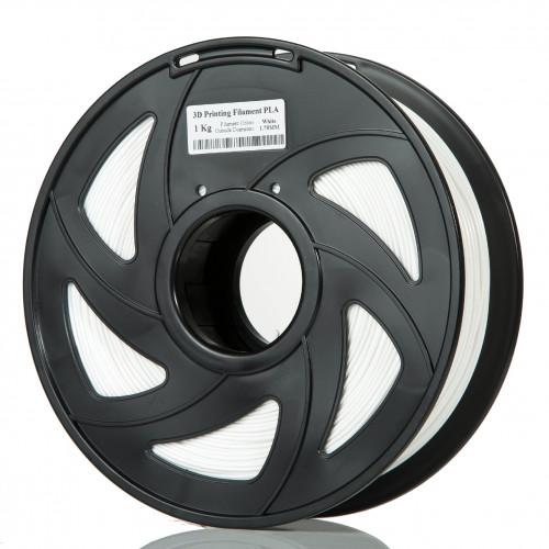 PLA пластик Filament 1.75 мм 1кг (Белый)