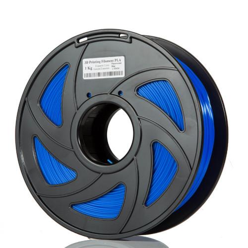 PLA пластик Filament 1.75 мм 1кг (Синий)