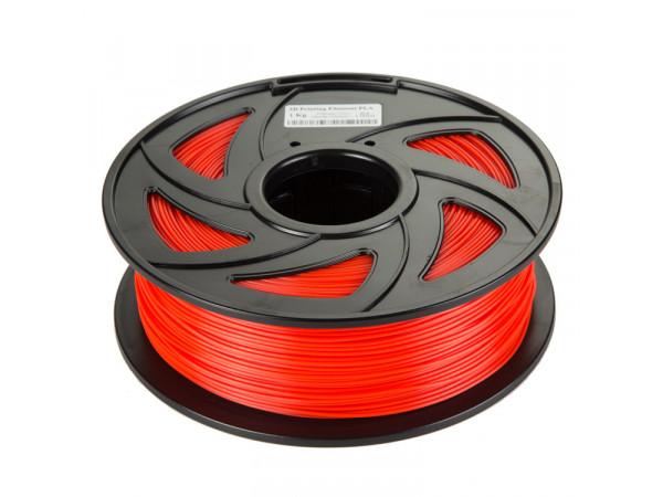 PLA пластик Filament 1.75 мм 1кг (Красный)