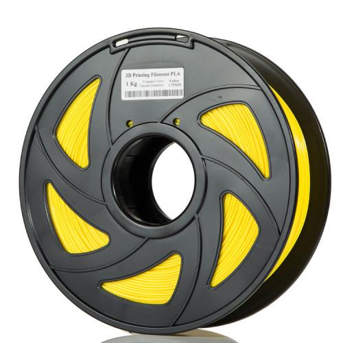 PLA пластик Filament 1.75 мм 1кг (Желтый)