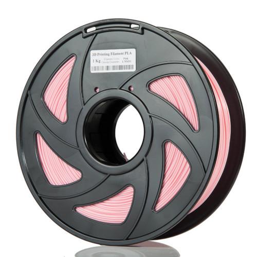 PLA пластик Filament 1.75 мм 1 кг (Розовый)