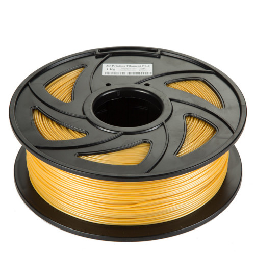 PLA пластик Filament 1.75 мм 1 кг (Золотой)
