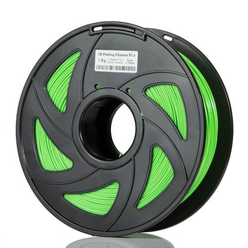 PLA пластик Filament 1.75 мм 1 кг (Зеленый)