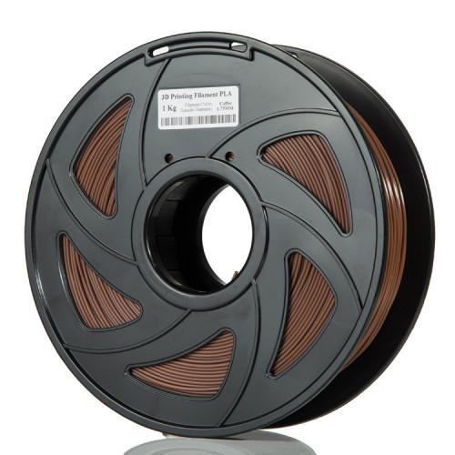 PLA пластик Filament 1.75 мм 1 кг (Светло-коричневый)