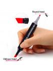 Набор двусторонних маркеров TouchNew для рисования и скетчинга на спиртовой основе 60 штук