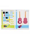 Книга с трафаретами для 3D ручки для девочек и мальчиков №6