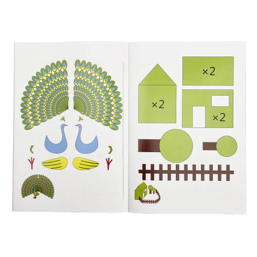 Книга с трафаретами для 3D ручки №7