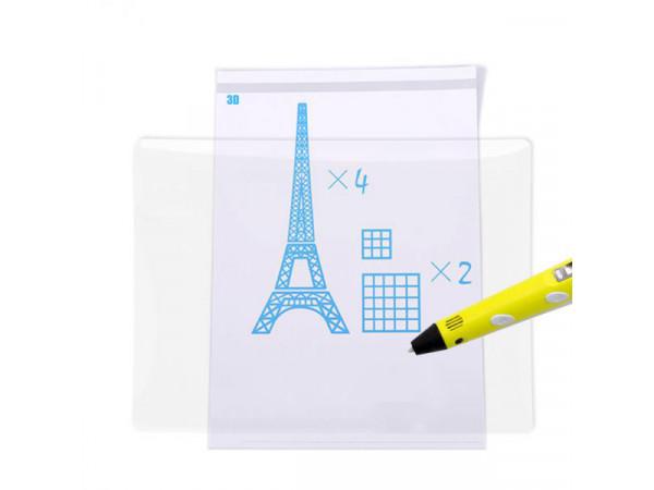 Прозорий килимок для 3D малювання (150x180 мм)