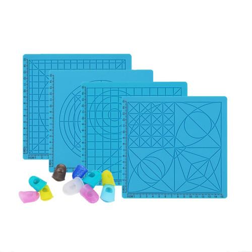 Силиконовый коврик для 3D ручек (Комплект из 4 штук)