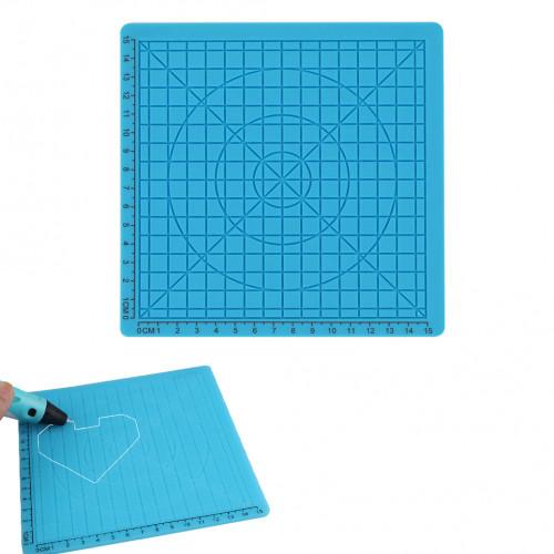 Силиконовый коврик для 3D ручек №1