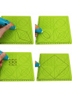 Силиконовый коврик для 3D ручек №2 (Green)