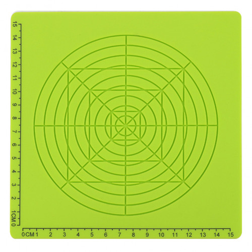 Силиконовый коврик для 3D ручек №4 (Green)