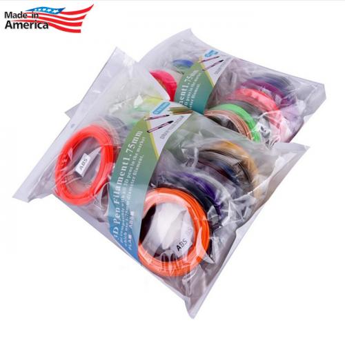 Набор пластика ABS-B для 3D ручек 200 метров (20 цветов по 10 метров)