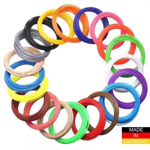 Набор пластика ABS+ для 3D ручек 560 метров (16 цветов по 35 метров)