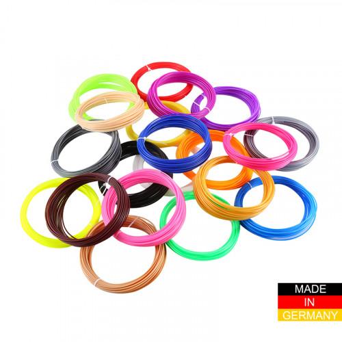 Набор пластика ABS+ для 3D ручек 240 метров (16 цветов по 15 метров)