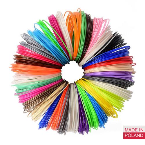 Набор пластика PLA для 3D ручек 420 метров (14 цветов по 30 метров)