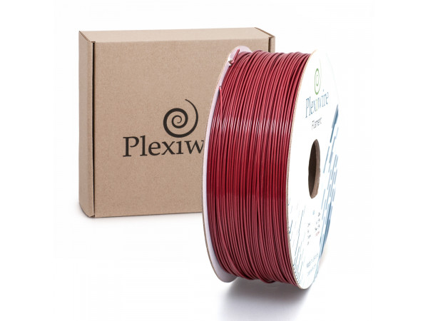 ABS пластик для 3D принтера 1.75мм бордовый (300м / 0.75кг)