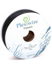 PLA пластик для 3D принтера 1.75мм черный (300м / 0.9кг)