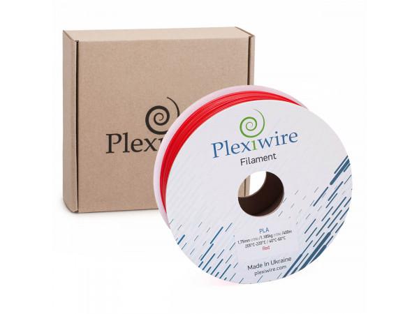 PLA пластик для 3D принтера 1.75мм красный (400м / 1.185кг)