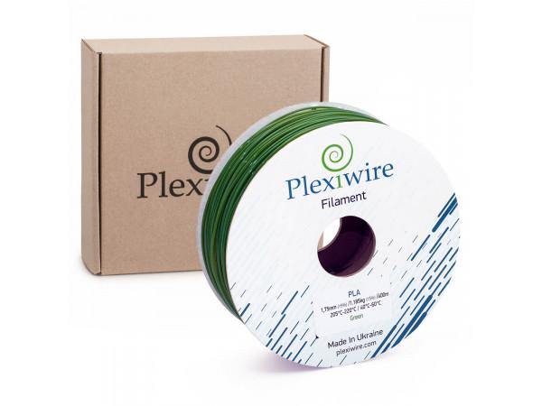 PLA пластик для 3D принтера 1.75мм зеленый (400м / 1.185кг)