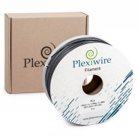 PLA пластик для 3D принтера 1.75мм серый (300м / 0.9кг)