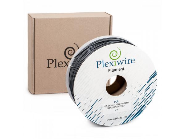 PLA пластик для 3D принтера 1.75мм серый (400м / 1.185кг)
