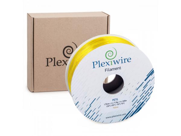 PETG пластик для 3D принтера желтый 1,75мм (300м / 0,9кг)